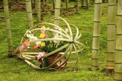 竹林アート