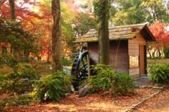 森の水車小屋