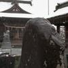 雪の日の神社
