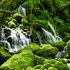 元滝伏流水の流れ