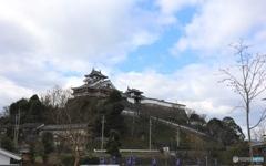福知山城にて3