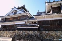 福知山城にて2