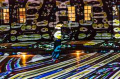 赤レンガ倉庫デジタル掛け軸3