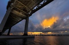 雨上がりの横浜港 2