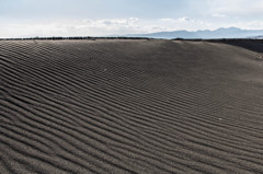 風と砂のアート1