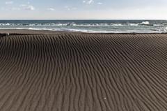 風と砂のアート2