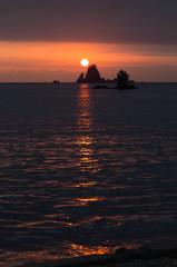 西伊豆田子の夕陽