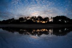 ジンバランの夜明け