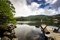 夏の白駒池