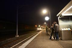 朝の電車1