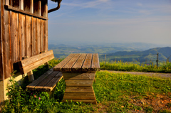 山の指定席