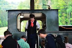 蒸気機関車10