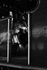 機関車の運転室