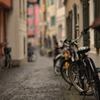 自転車のある風景