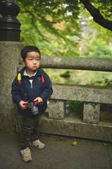 若きカメラマン