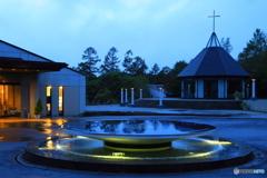 女神湖のリゾートホテル