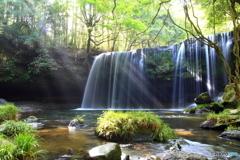 夏の鍋ヶ滝