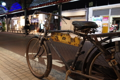 Street scene with bicycles #4