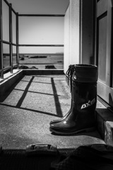 Waiting boots