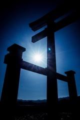 Shrine under the sun