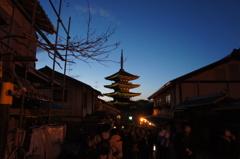 京都行ってきました。~八坂の塔~