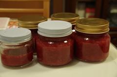 手作り苺ジャム