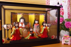 わが家の雛人形1