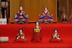 桃の節句‐大石家本家の土人形