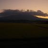 明け行く鳥海山-4