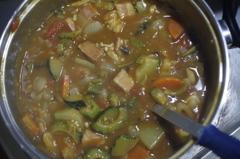 夏野菜カレー3
