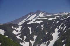 鳥海山の頂