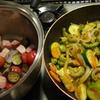 夏だ、カレーだ、夏野菜カレー作ろう2