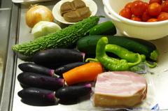 夏だ、カレーだ、夏野菜カレー作ろう1