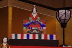 桃の節句-土人形のひな飾り3