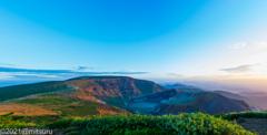 夏の終りの山