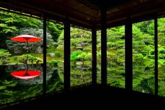 写鏡の庭園