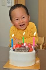 3歳になったよ!!