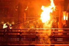 火の粉舞う 修二会2021