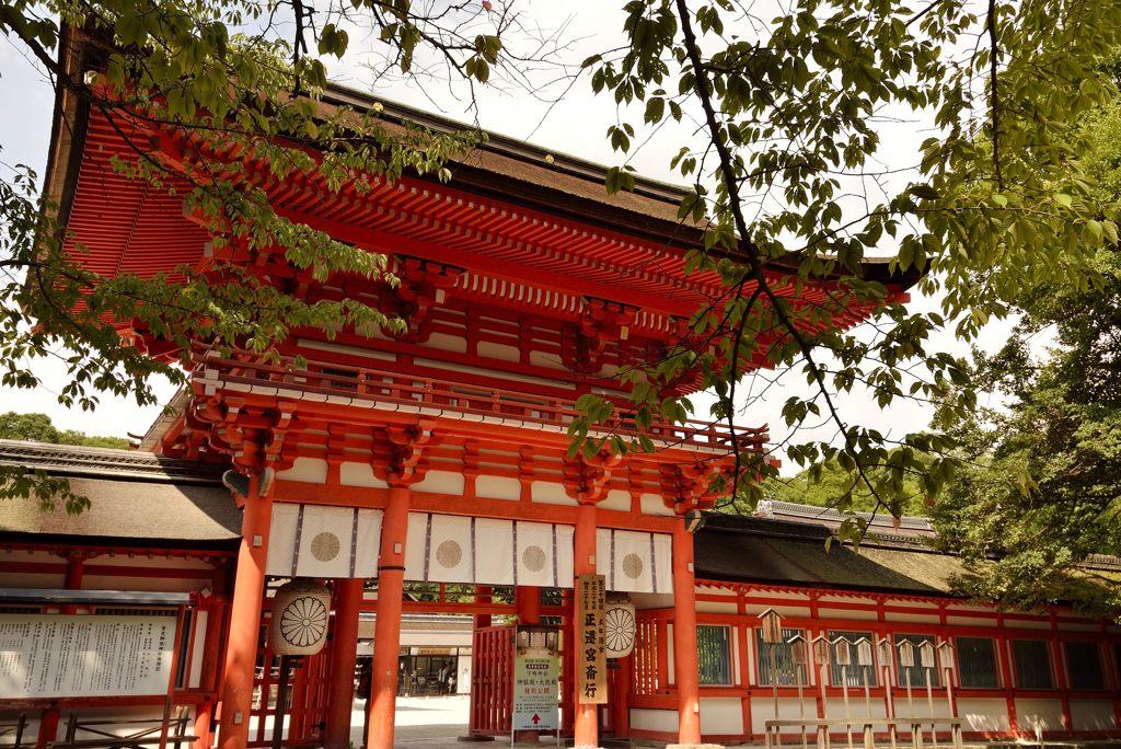 下鴨神社・山門