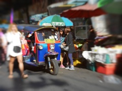 TukTuk in town