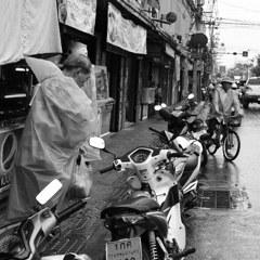 Rain scape at Toet Thai Rd.