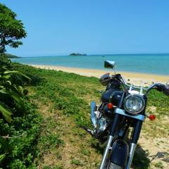 HONDA Phantom200 in Ishigaki island