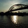 Lack町にかかる橋