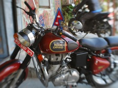 Royal Enfield in Nepal