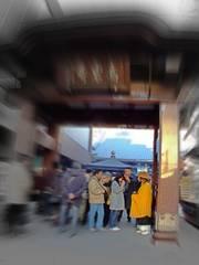 祈り(巣鴨、高岩寺)