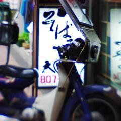 蕎麦屋のバイク