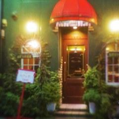 A cafe in Kitasenju shopping street