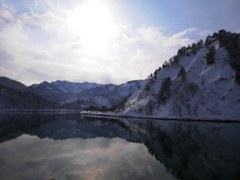 TADAMI river in winter