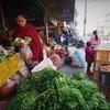 Fresh market in Pokhara