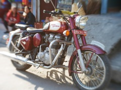 Royal Enfield, brown